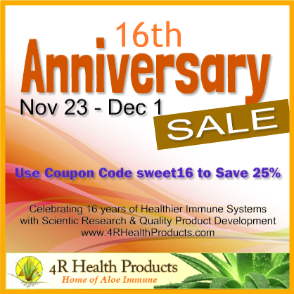 16th Anniversary Sale